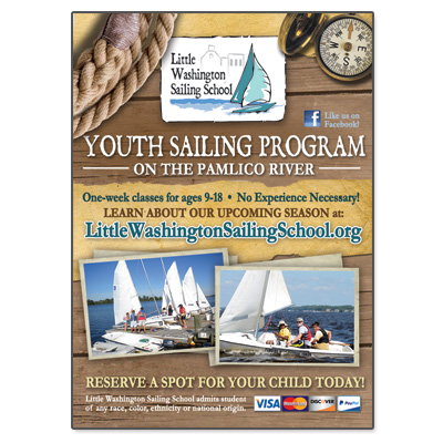 Little Washington Sailing School – Print Ad