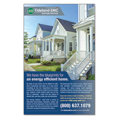 Tideland EMC – Energy Efficient Homes Ad